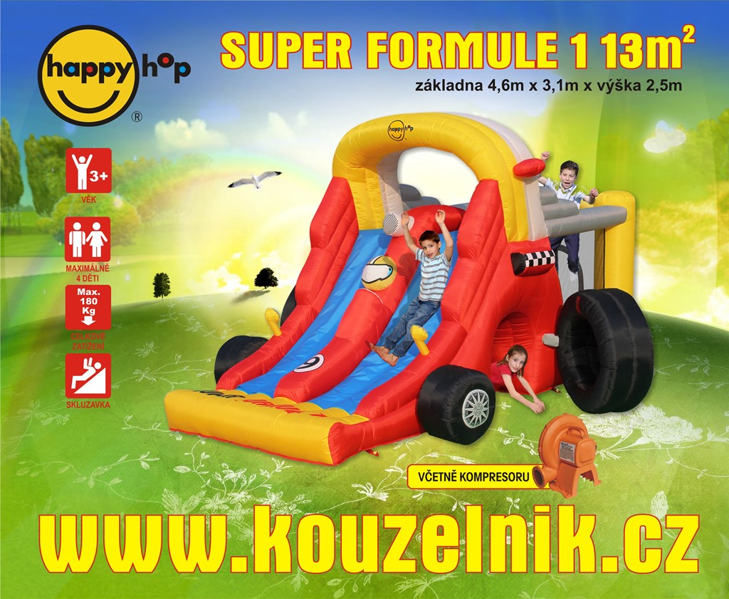 Super formule 1 Happy Hop 9026